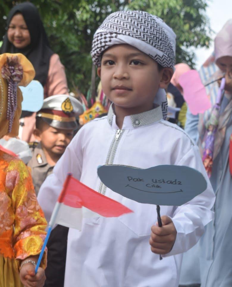 Uniknya Saat Penampilan Karnaval Budaya Indonesia di Aceh
