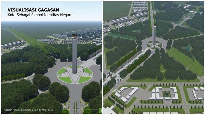 Image result for jokowi umumkan ibukota baru